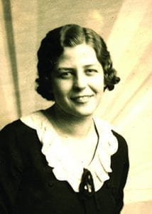 Anna Kurzweil in her youth