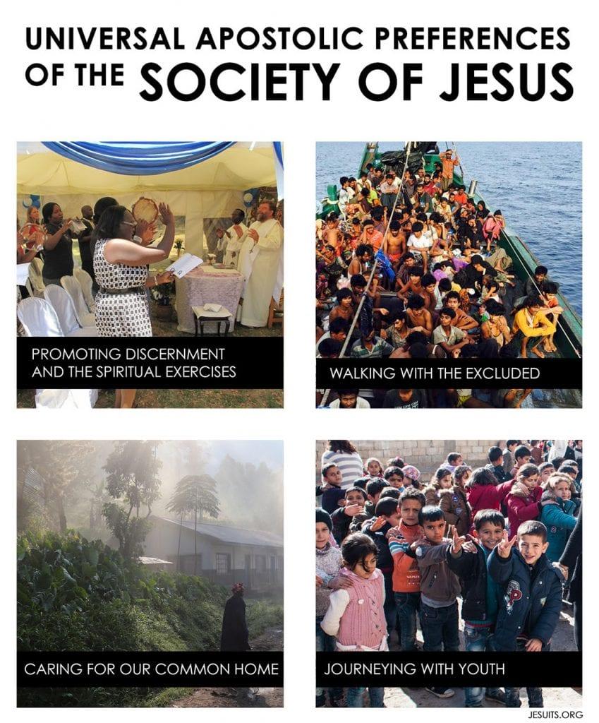 Four Universal Apostolic Preferences
