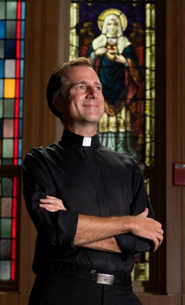 Fr. Justin Daffron, SJ
